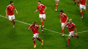 Wales Belgien Ashley Williams 01072016