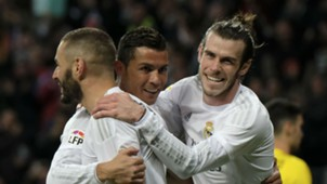 Karim Benzema Cristiano Ronaldo Gareth Bale BBC Real Madrid 20032016