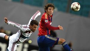 JUAN BERNAT BAYERN MUNICH MARIO FERNANDES CSKA MOSCOW CHAMPIONS LEAGUE 09302014