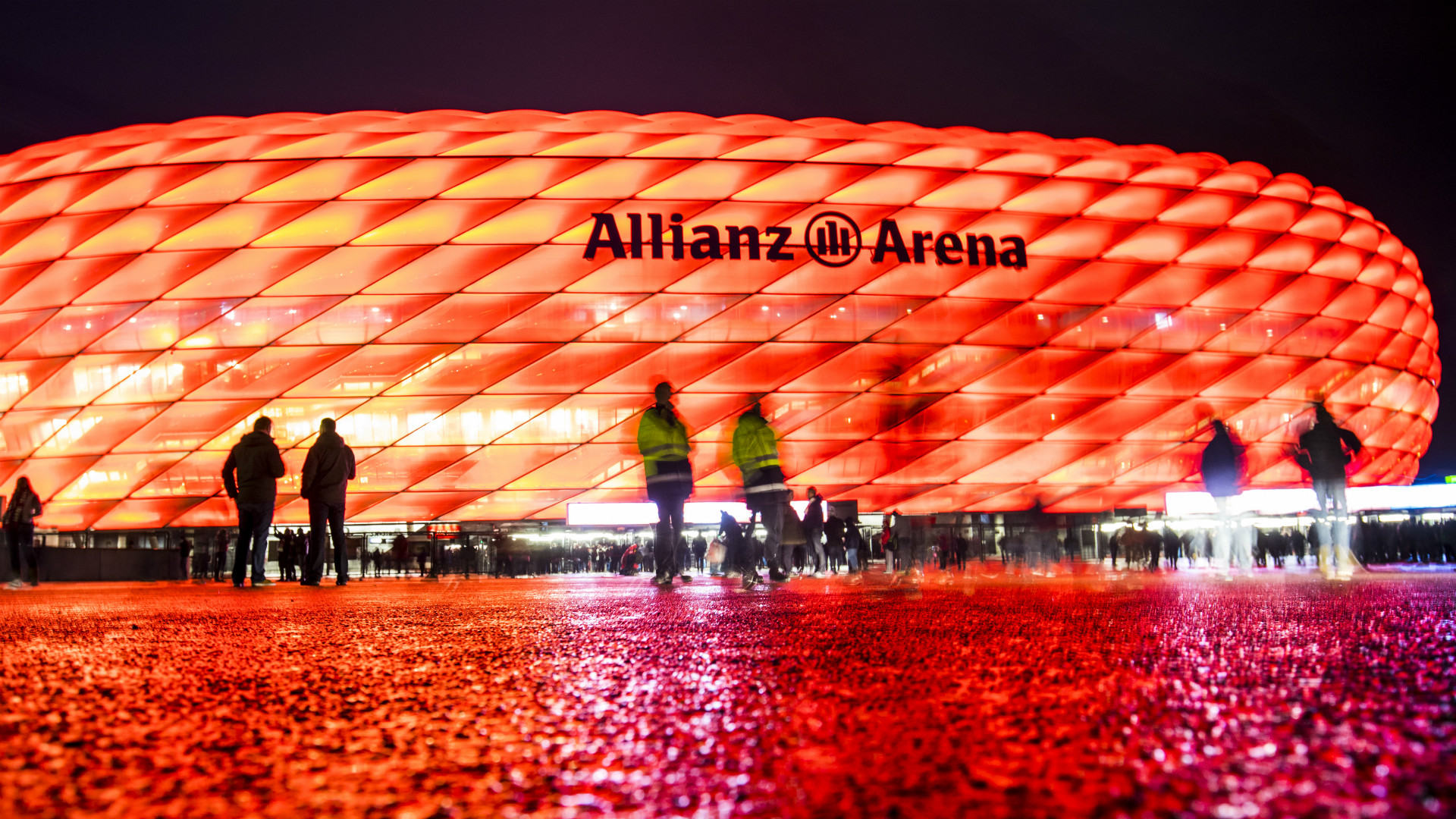 ALLIANZ ARENA BAYERN MUNICH CHAMPIONS LEAGUE 19102016