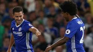 Eden Hazard Willian Chelsea