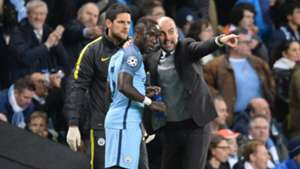 ONLY GERMANY Bacary Sagna Pep Guardiola Manchester City