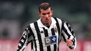 Zinedine Zidane Juventus Turin 13012000