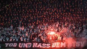 Niedersachsenderby Hannover 96 Eintracht Braunschweig Fans Pyro Bundesliga 08112016