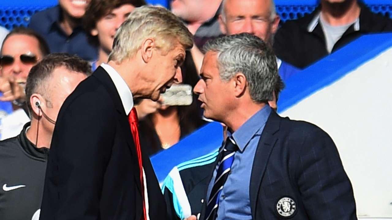Arsene Wenger Jose Mourinho 10052014