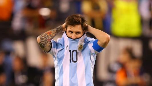 Lionel Messi Argentinien Chile Copa America Centenario 26062016