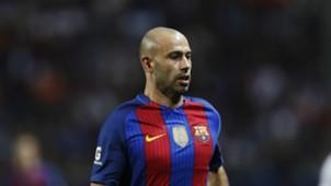 Javier Mascherano FC Barcelona Leicester City 03082016