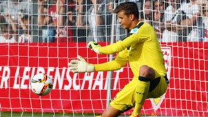 Mitchell Langerak VfB Stuttgart Training Session Bundesliga 04072015