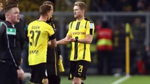 Andre Schürrle Borussia Dortmund Bundesliga 19112016