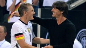 Bastian Schweinsteiger Joachim Low Germany Finland International Friendly 31082016