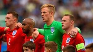 England Slovenia Wayne Rooney Joe Hart Phil Jones Fabian Delph