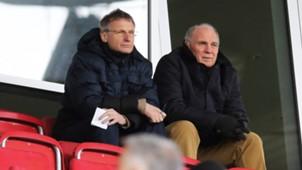 ONLY GERMANY Michael Reschke Uli Hoeneß FC Bayern 03012015