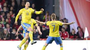 Zlatan Ibrahimovic Dänemark Schweden EURO Play-Offs 11.17.2015