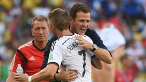 Bastian Schweinsteiger Oliver Bierhoff Germany Deutschland WM Worldcup 2014 13072014