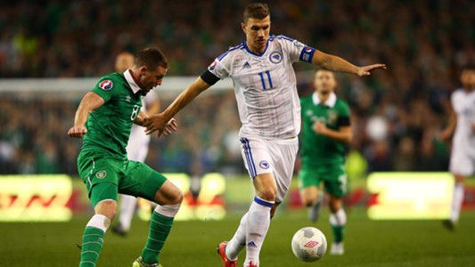 Dzeko Ireland Bosnia 11162015