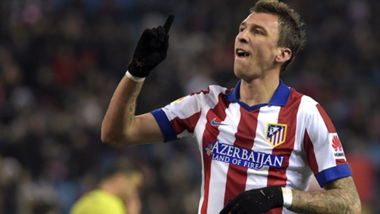 Mario Mandzukic Atletico Madrid