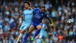 Leroy Saane Mahrez Manchester City Leicester 13052017