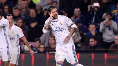 Sergio Ramos Real Madrid Clasico 03122016