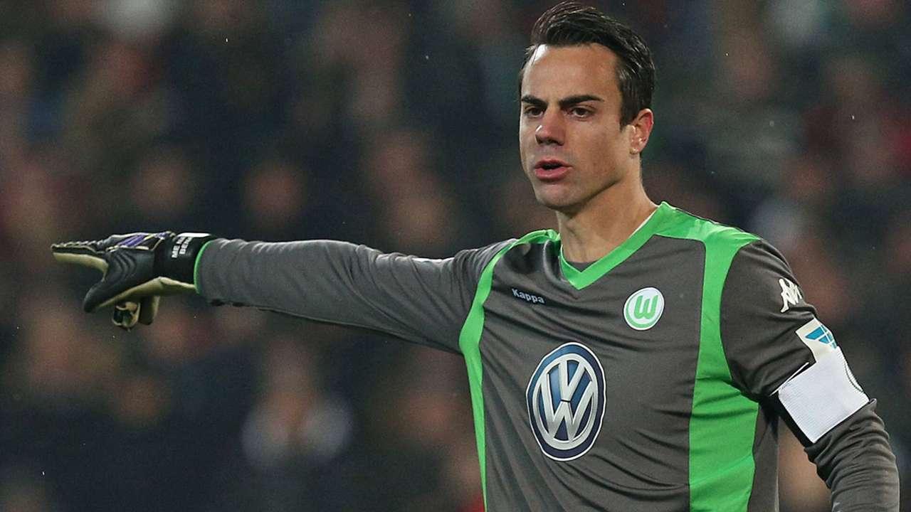 Hannover Wolfsburg Diego Benaglio Bundesliga 12062014