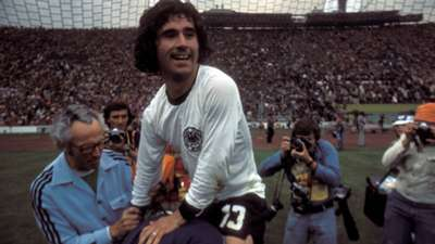 ONLY GERMANY Gerd Muller WC 07071974