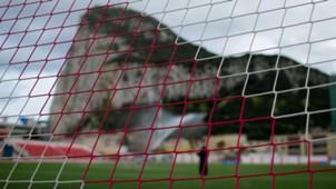Gibraltar Färoer Inseln Victoria Stadium Freundschaftsspiel 03012014