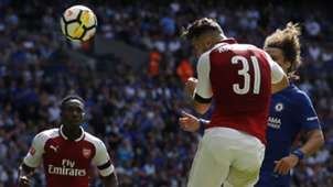 Kolasinac, Community Shield, Arsenal Chelsea, 06082017