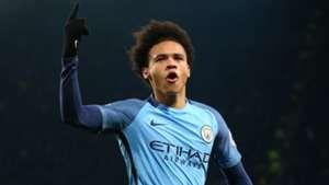 Leroy Sane Manchester City 21012017