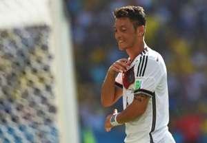 Mesut Özil Germany France 2014 World Cup Quarterfinal 04072014