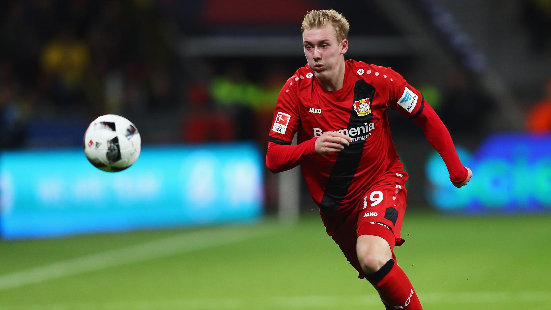 Julian Brandt Bayer Leverkusen 01102016