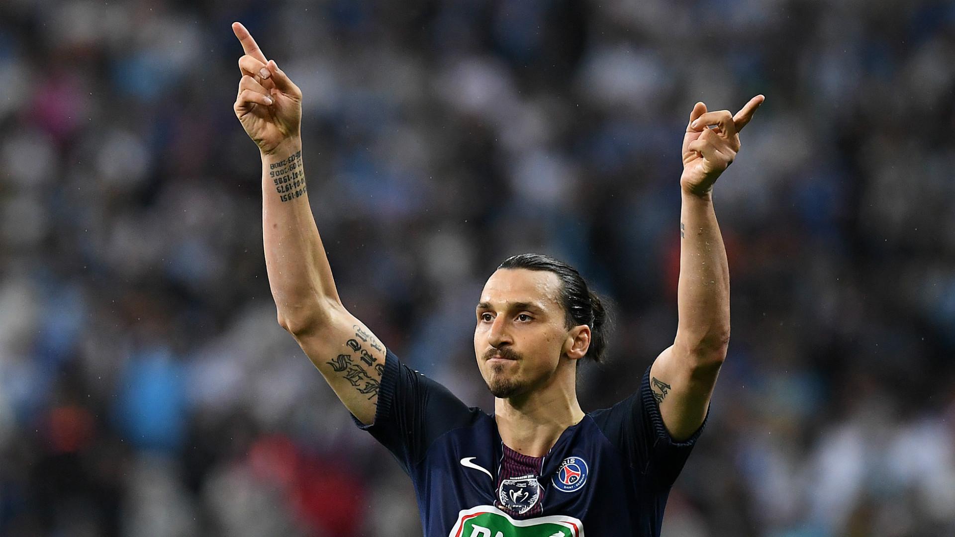 Zlatan Ibrahimovic PSG 21052016