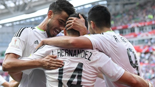 Mexico Portugal Confed Cup 18062017