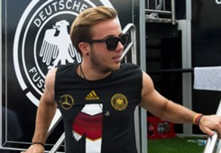 Mario Götze Germany Victory Parade Berlin 07152014