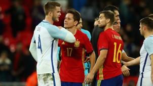 Eric Dier Ander Herrera England Spanien 15112016