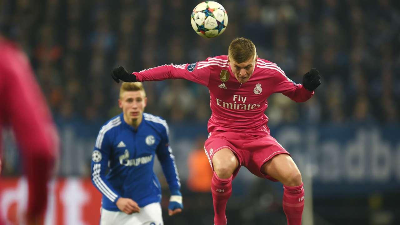 Toni Kroos FC Schalke 04 Real Madrid Champions League 02182015