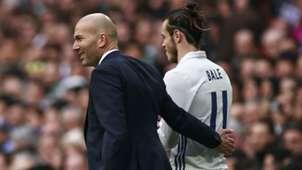 Gareth Bale Zinedine Zidane 180217