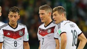 Özil Schweinsteiger Kroos Deutschland 2014