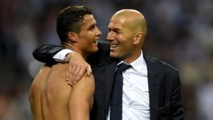 Ronaldo, Zidane 05282016