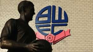Bolton Wanderers Nat Lofthouse Statue Macron Stadium 11082015