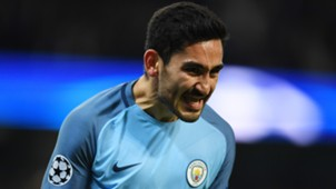 Ilkay Gündogan Manchester City Champions League 01112016