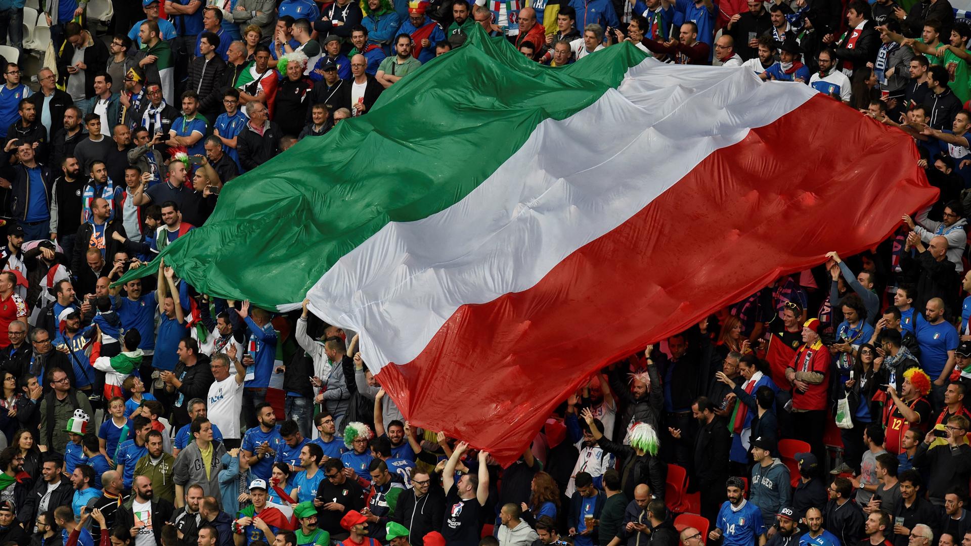 Italy Flag Euro 2016