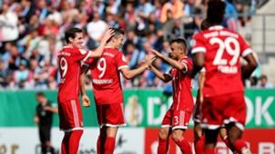 FC Bayern DFB Pokal 12082017