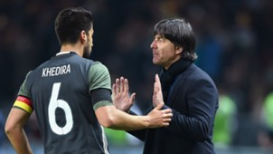 Sami Khedira Joachim Low Germany England 03262016