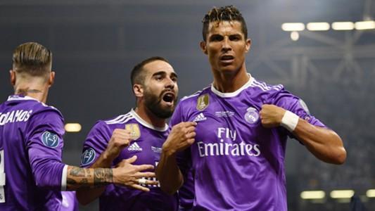 Cristiano Ronaldo Carvajal Real Madrid 03062017