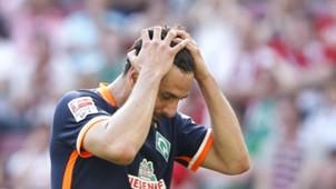 Claudio Pizarro Werder Bremen 07052016