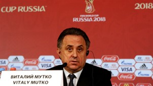 Vitaly Mutko Sports Minister Russia World Cup 2018 Press Conference 02152015