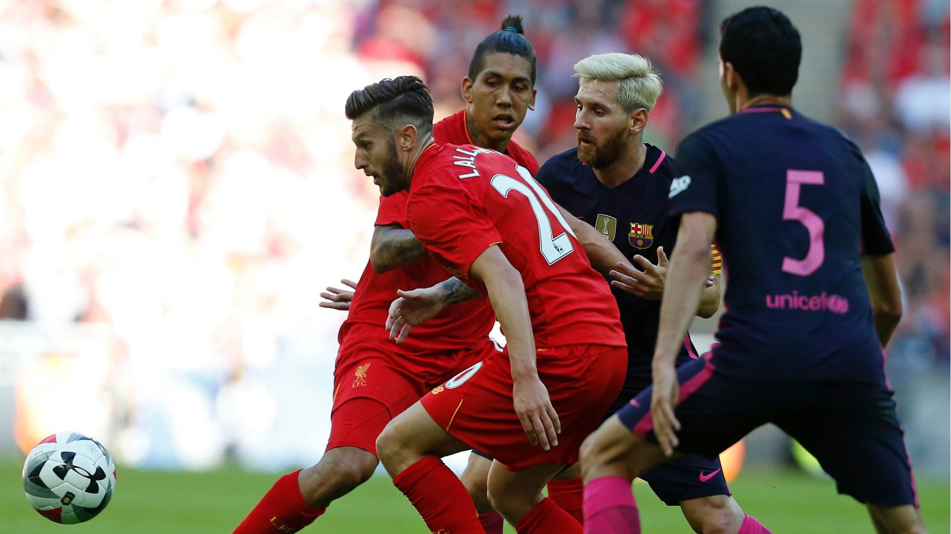 Adam Lallana FC Liverpool FC Barcelona 06082016