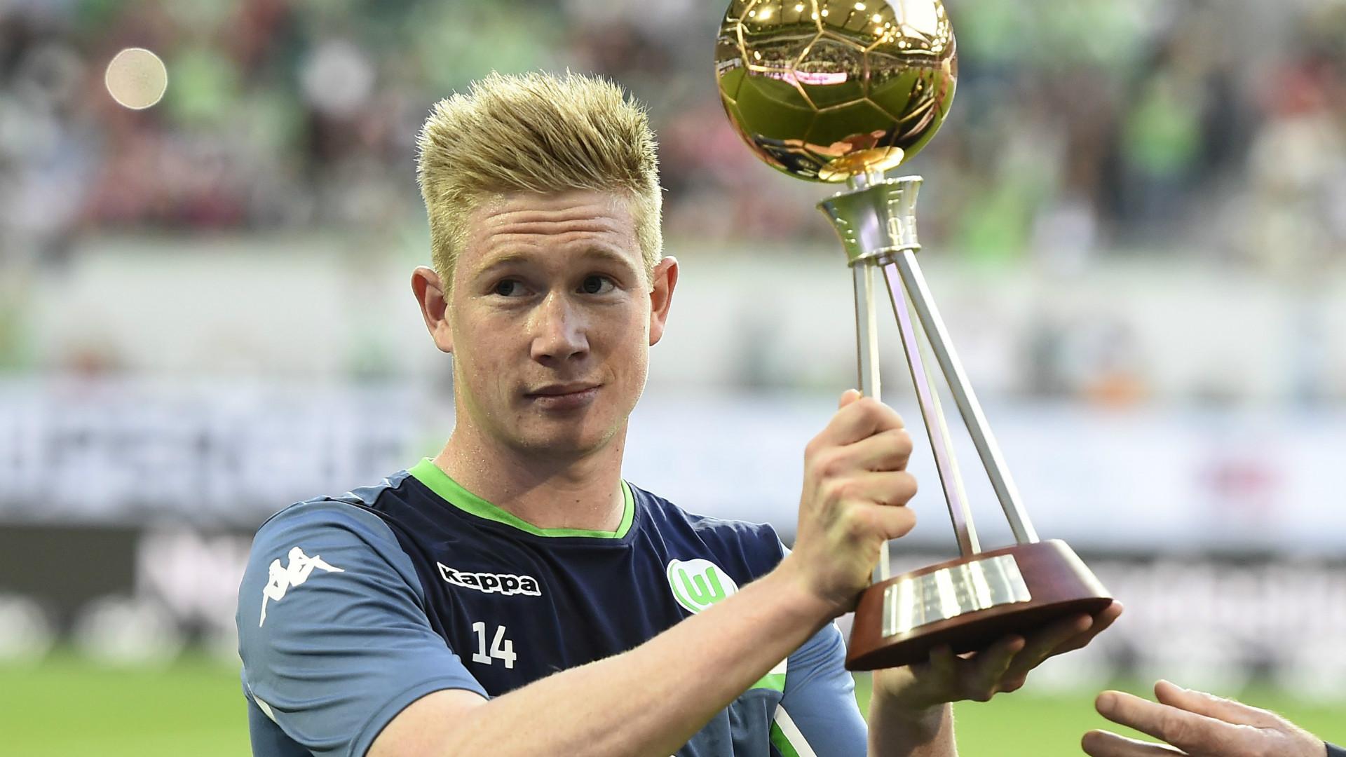 Kevin De Bruyne Wolfsburg Supercup 01082015