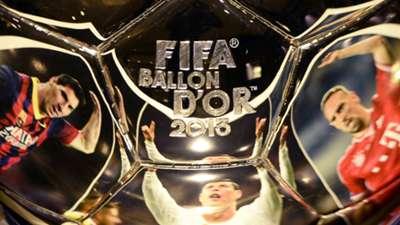 Ballon d'Or 12102013