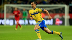 Zlatan Ibrahimovic Sweden Moldowa Ec Qualification 12102015