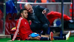 Thiago Alcantara Pep Guardiola Bayern München Atletico Madrid 27042016